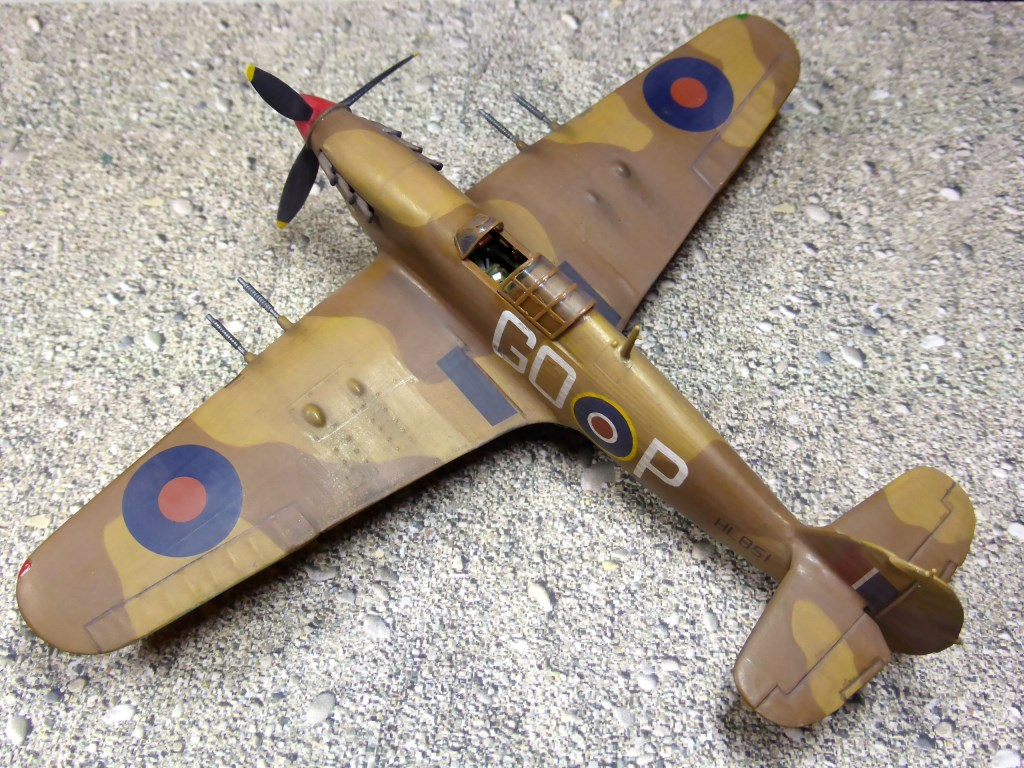[Vintage] - AIRFIX Hawker Hurricane Mk IIC Amk28610