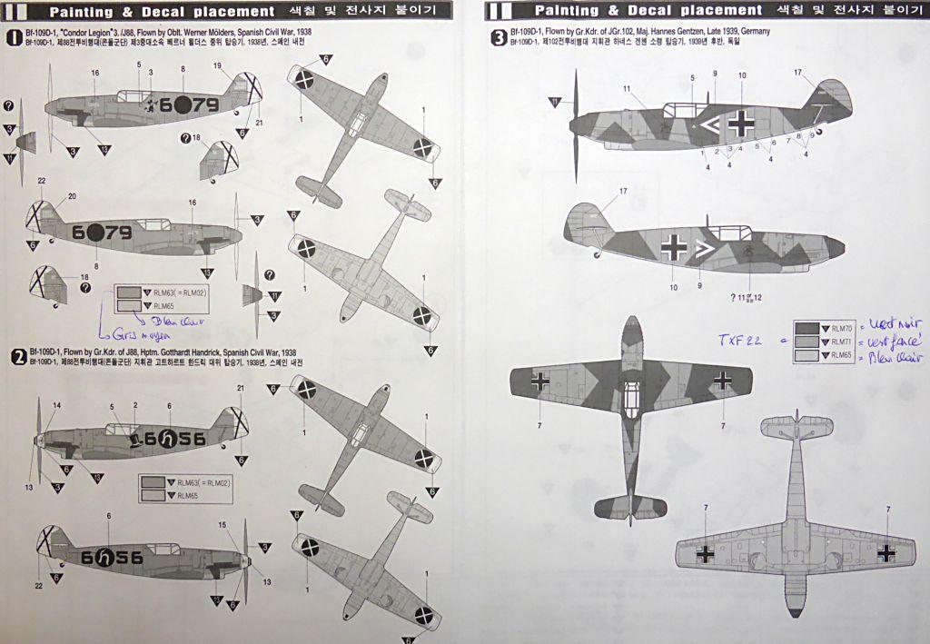 """[ACADEMY] Messerchmitt BF 109D  JG 132 """"Richtoffen"""" 1937 (1/48) Bf109d13"""
