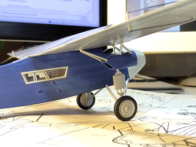 "[Zvesda] - Fokker F-VII ""SOUTHERN CROSS"" 1928 Vol Trans-Pacifique vers l'Australie Fvii-411"