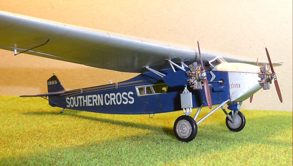 "[Zvesda] - Fokker F-VII ""SOUTHERN CROSS"" 1928 Vol Trans-Pacifique vers l'Australie Fvii-515"