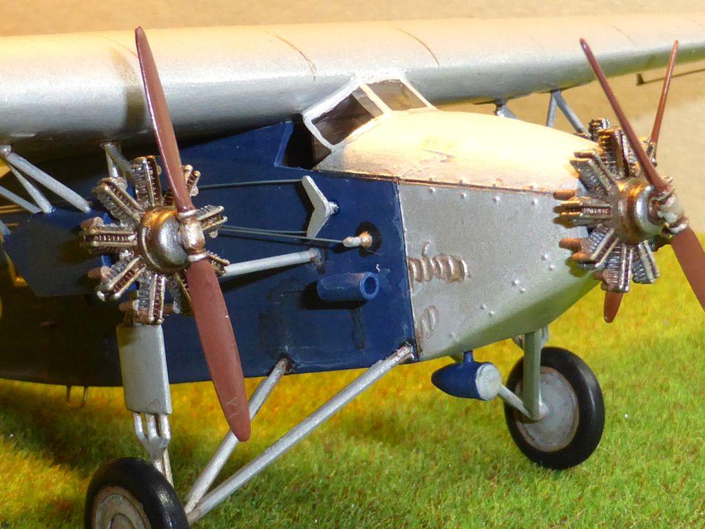"[Zvesda] - Fokker F-VII ""SOUTHERN CROSS"" 1928 Vol Trans-Pacifique vers l'Australie Fvii-516"