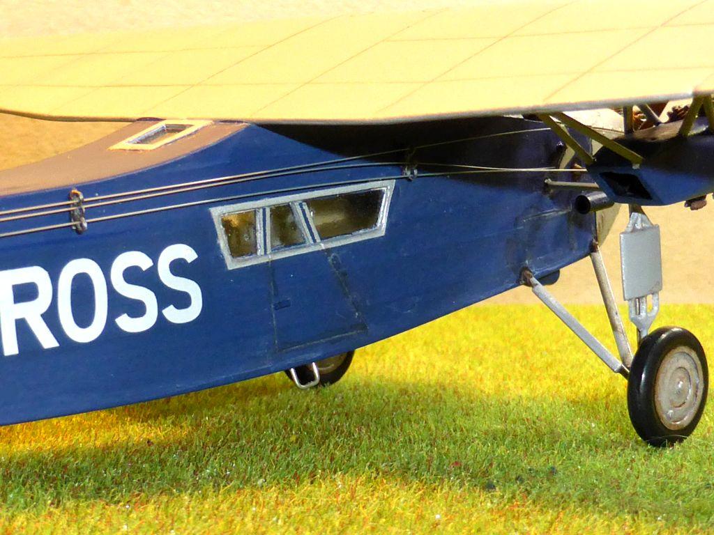 "[Zvesda] - Fokker F-VII ""SOUTHERN CROSS"" 1928 Vol Trans-Pacifique vers l'Australie Fvii-518"