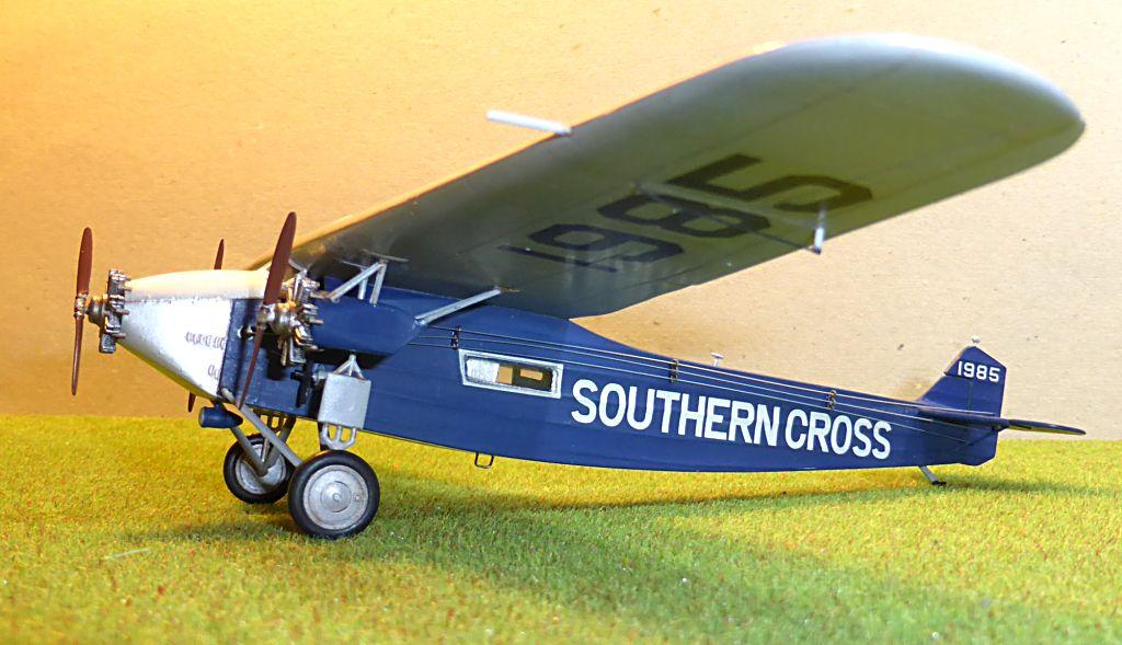 "[Zvesda] - Fokker F-VII ""SOUTHERN CROSS"" 1928 Vol Trans-Pacifique vers l'Australie Fvii-613"