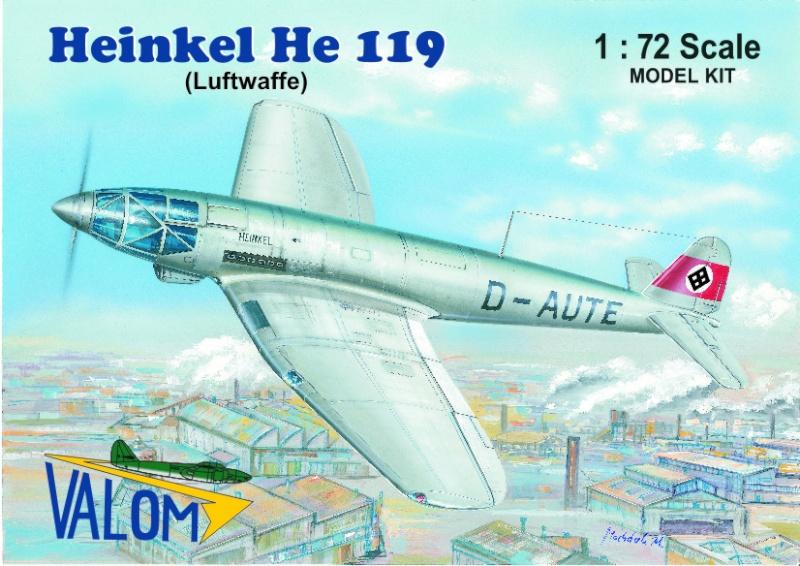 Heinkel He 119 V4 (Planet Models 1:72) 72100210