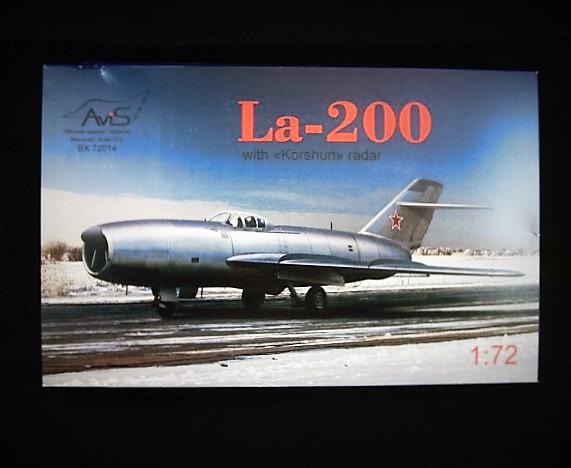 Lavochkin LA 200 Dsc03913