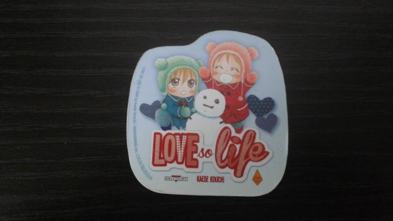[MANGA] Love so Life 20151010