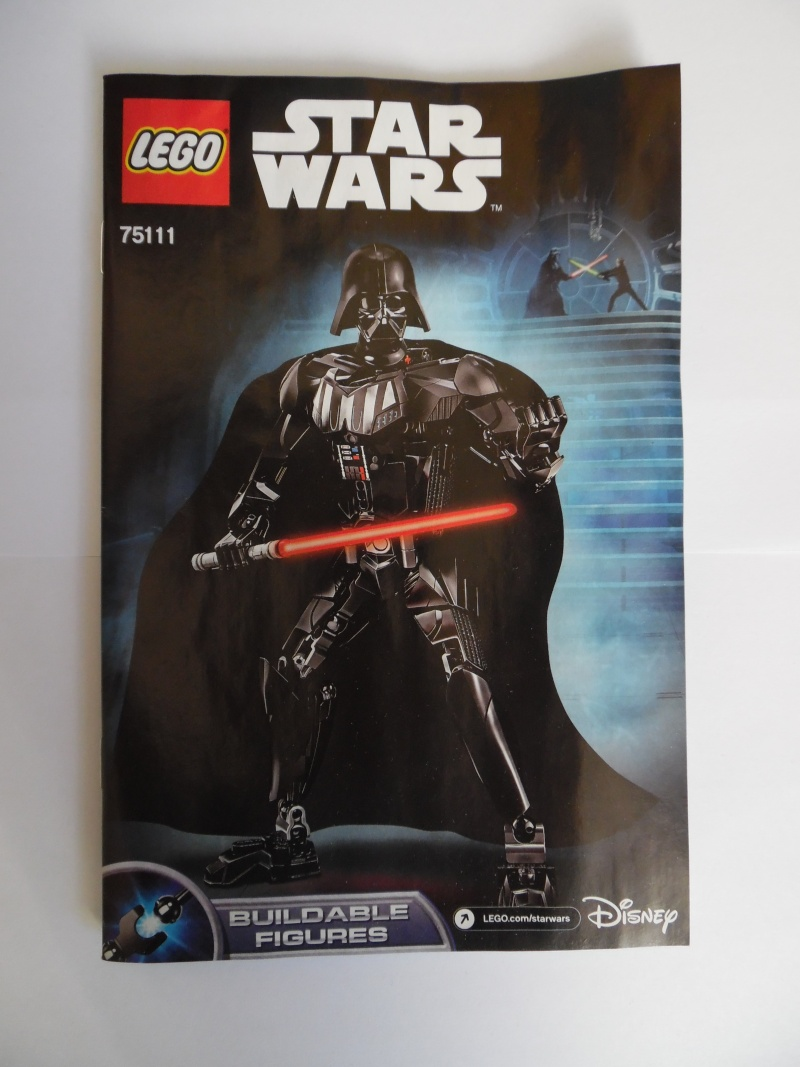 [Revue] Figurine à construire LEGO Star Wars 75111 : Dark Vador  Sam_1513