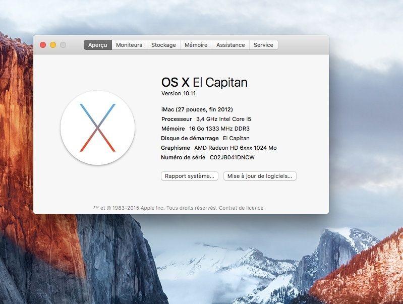 Os x El Capitan est sur APP-Store Captur14