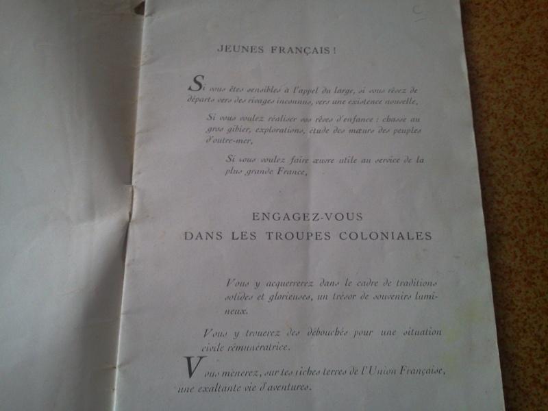 Ma collection : uniformes-coiffures-archives de la Coloniale et la colonisation - Page 6 Photo168