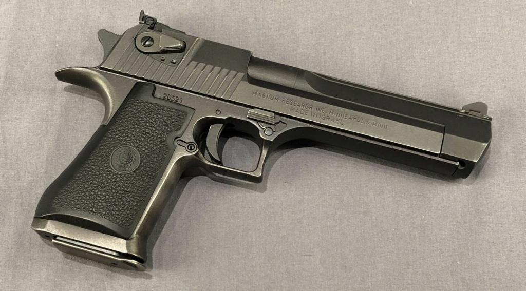 Munition .357 Mag pour faire cycler une Desert Eagle MK1 01404110