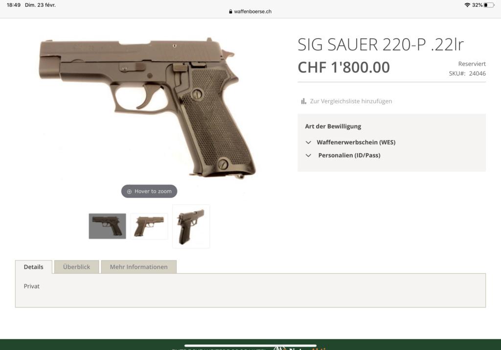 SIG P 220 . 22 lr 80799d10