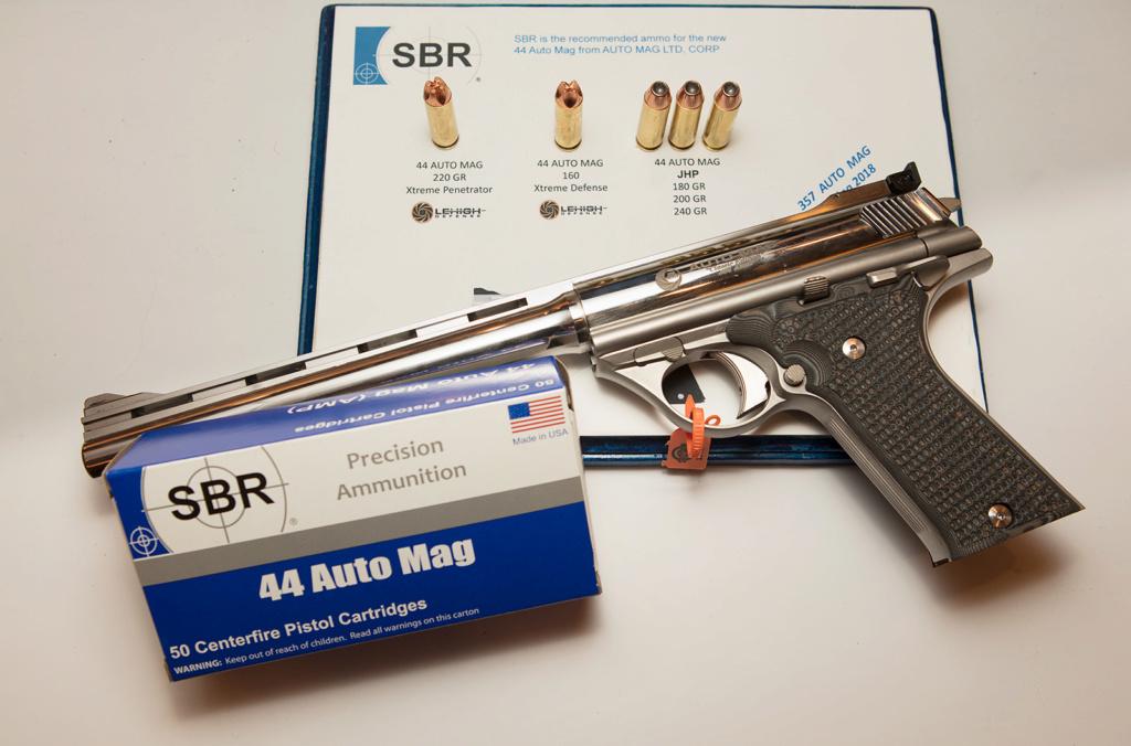 Munition: 10mm auto qui pousse Sbr44a10