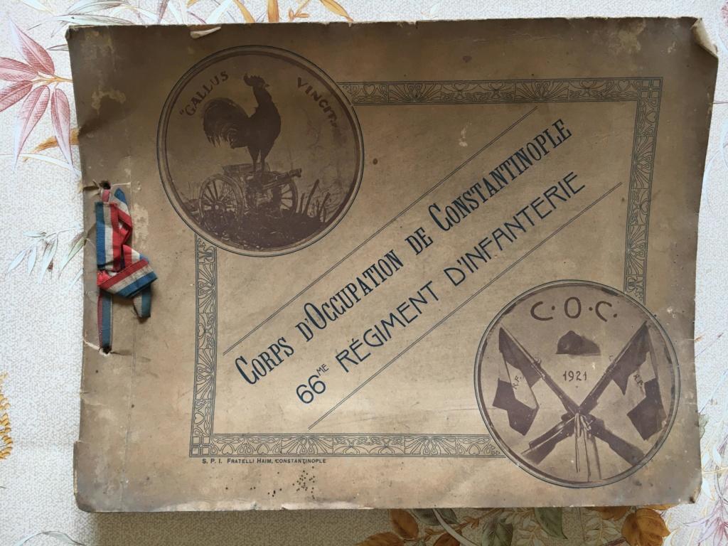 ALBUM SOUVENIR du Corps d'Occupation de CONSTANTINOPLE_66èmeR.I _1921 10634010