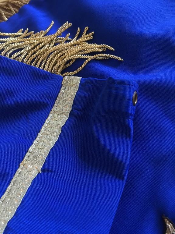 Drapeau / étendard tricolore brodé : Anciens combattants d'Afrique du Nord (AFN) 27305f10