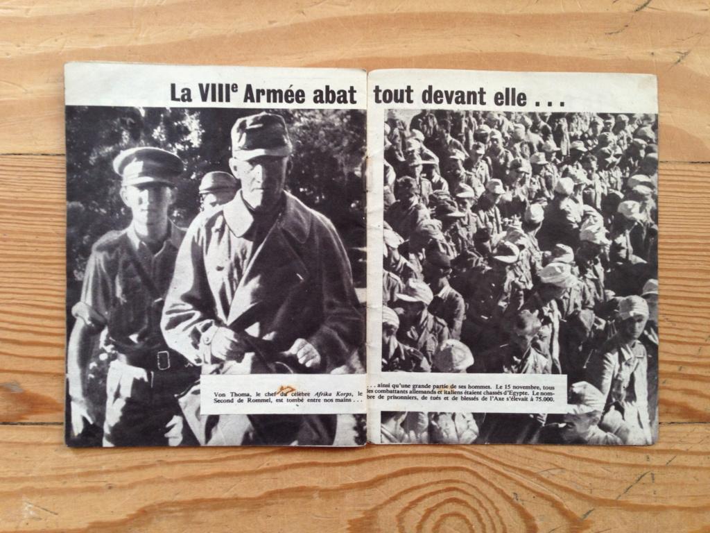 Lot de tracts d'information britanniques distribués par la RAF 1942_estimation  4a11