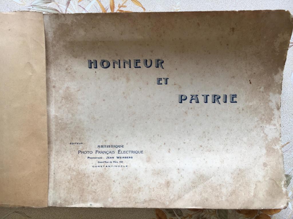 ALBUM SOUVENIR du Corps d'Occupation de CONSTANTINOPLE_66èmeR.I _1921 73472610