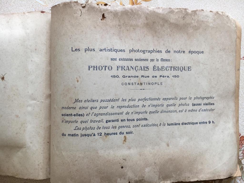 ALBUM SOUVENIR du Corps d'Occupation de CONSTANTINOPLE_66èmeR.I _1921 75603410