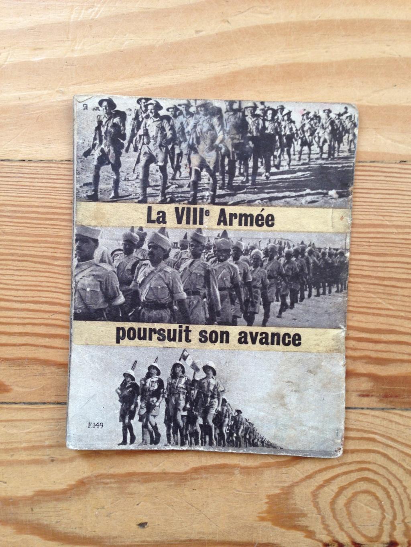Lot de tracts d'information britanniques distribués par la RAF 1942_estimation  Img_3122