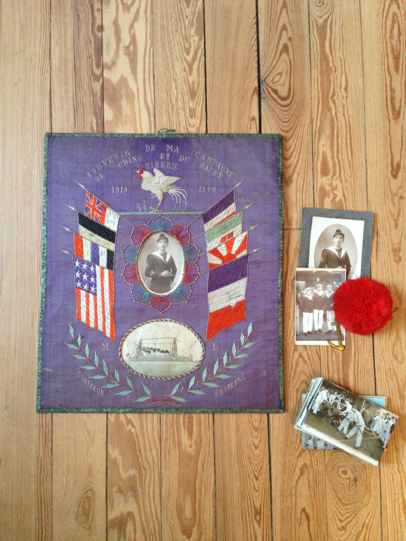 Souvenir de ma campagne de Chine et du Japon 1919-1920_ croiseur d'Estrées ! Img_5626