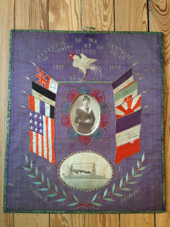Souvenir de ma campagne de Chine et du Japon 1919-1920_ croiseur d'Estrées ! Img_5627