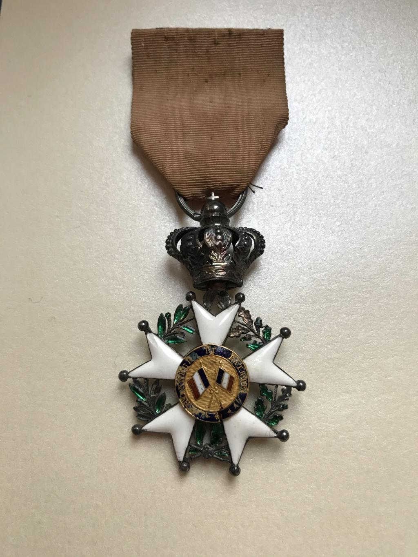 Chevalier de la LEGION D'HONNEUR - Monarchie de Juillet - en argent et or  Img_8512