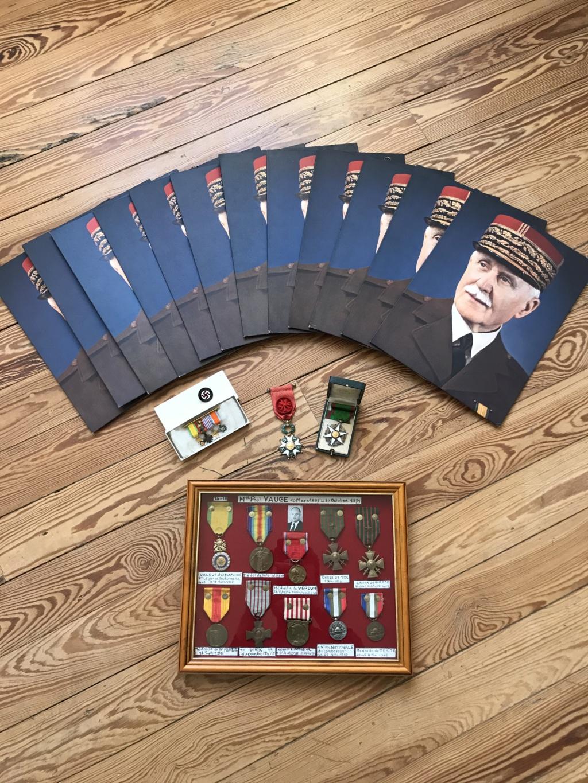 Portraits du maréchal Pétain en pagaille + médailles diverses (LH, St Mihiel...) Img_9112