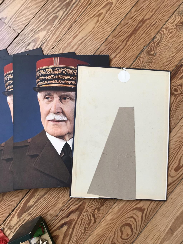 Portraits du maréchal Pétain en pagaille + médailles diverses (LH, St Mihiel...) Img_9114