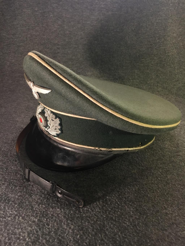 Estimation casquette allemande (sous-officier d'infanterie) brute de découverte S2210