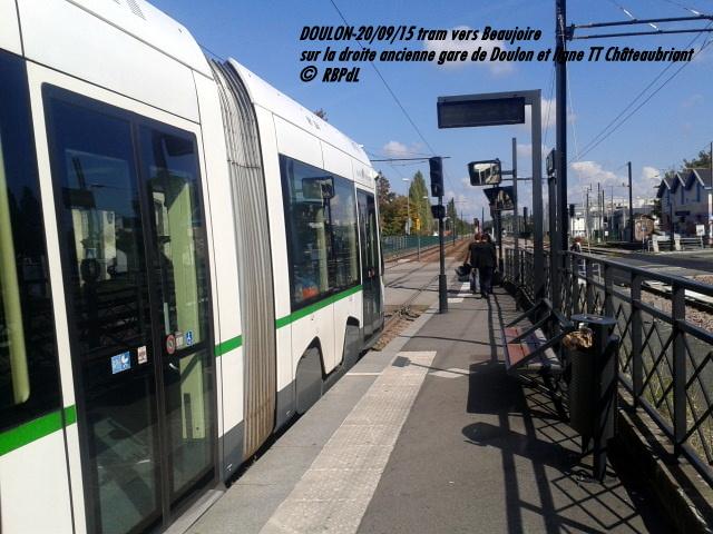 Doulon...Tram et Train Tram 1-201182