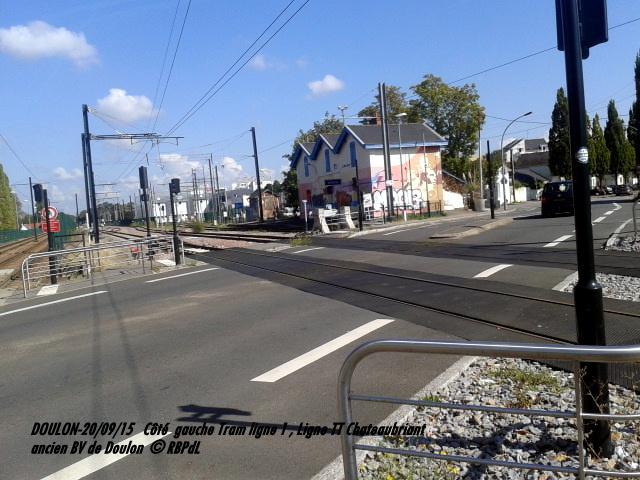 Doulon...Tram et Train Tram 1-201184