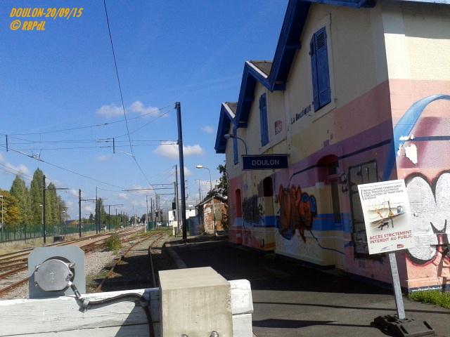 Doulon...Tram et Train Tram 1-201188