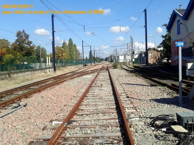 Doulon...Tram et Train Tram 1-201192