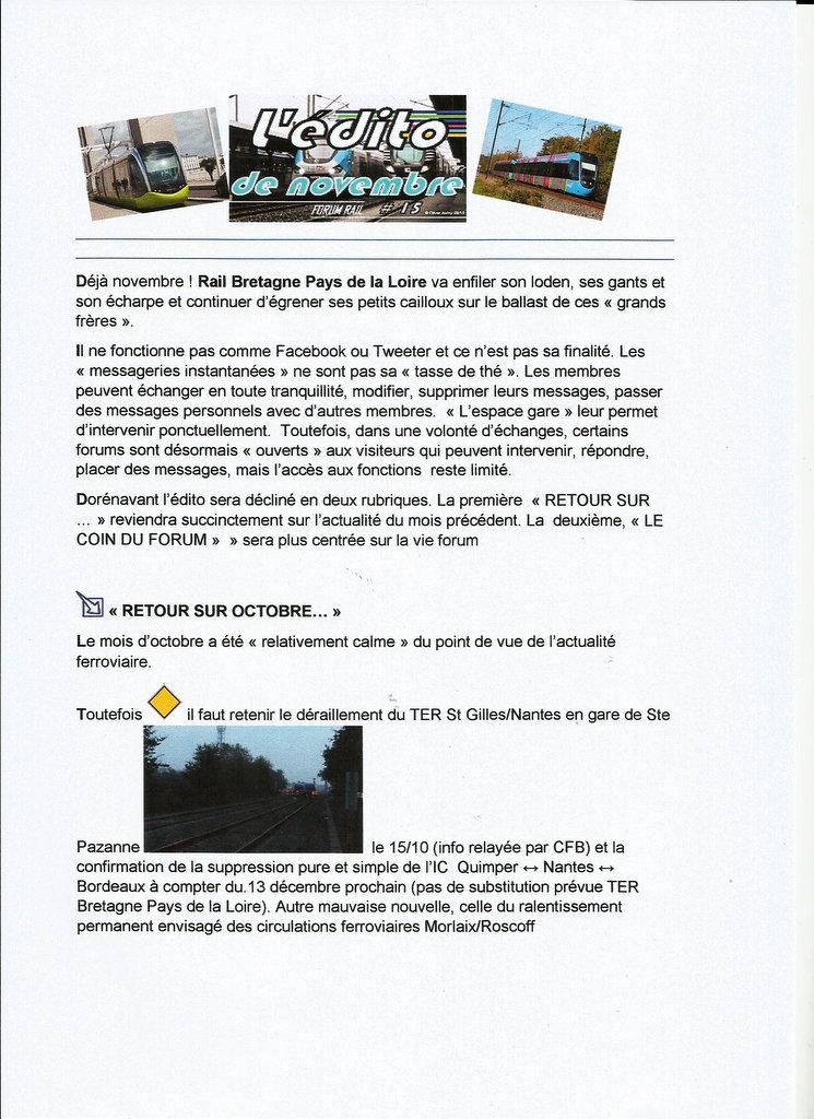 L' édito de novembre  # 15 1-scan53