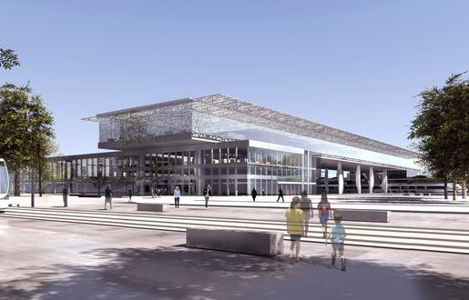 Nantes: Les premières images de la nouvelle gare  515x3311