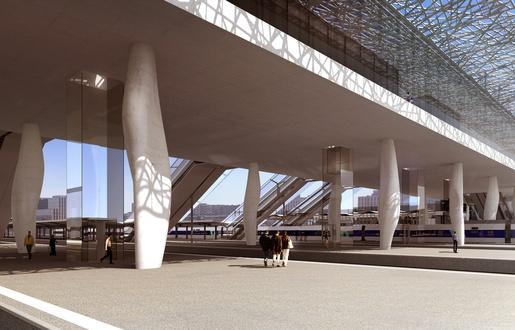 Nantes: Les premières images de la nouvelle gare  515x3312