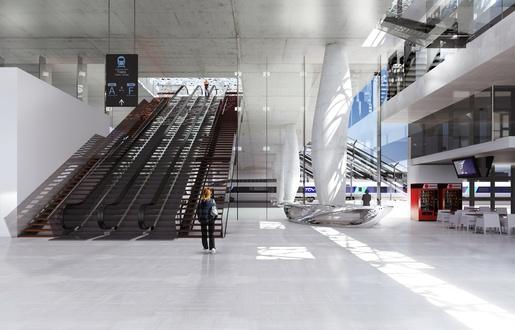 Nantes: Les premières images de la nouvelle gare  515x3315