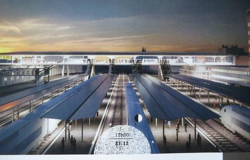 Nantes: Les premières images de la nouvelle gare  515x3316
