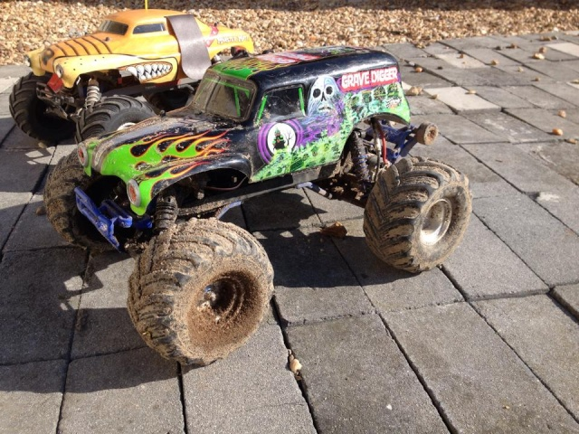 Mon ex FG Monster Beetle & mes autres ex rc non short course 12032410
