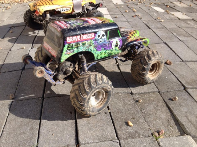 Mon ex FG Monster Beetle & mes autres ex rc non short course 12064110