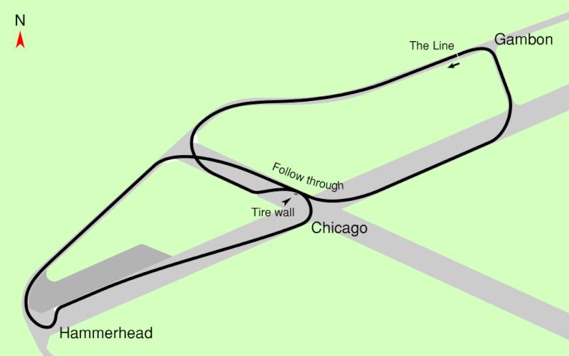 Ferrari Enzo sul Circuito di Top Gear 1024px10