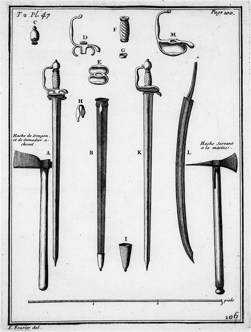Une épée de soldat du temps de Louis XIV Eipeie11