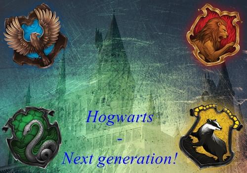 Hogwarts - Next generation!
