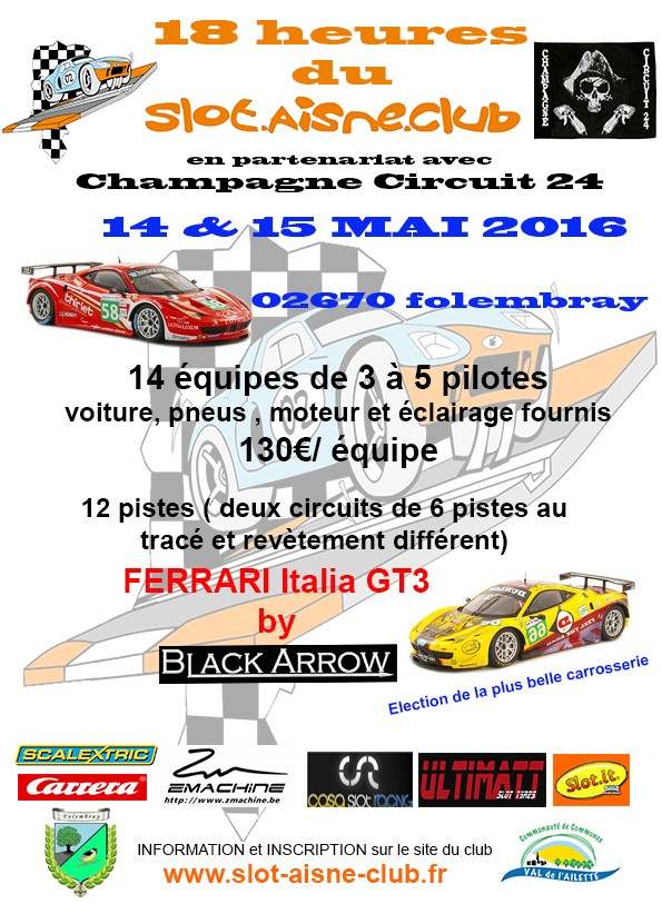 18h00 du slot aisne club 2016 bilan et photos Affich10