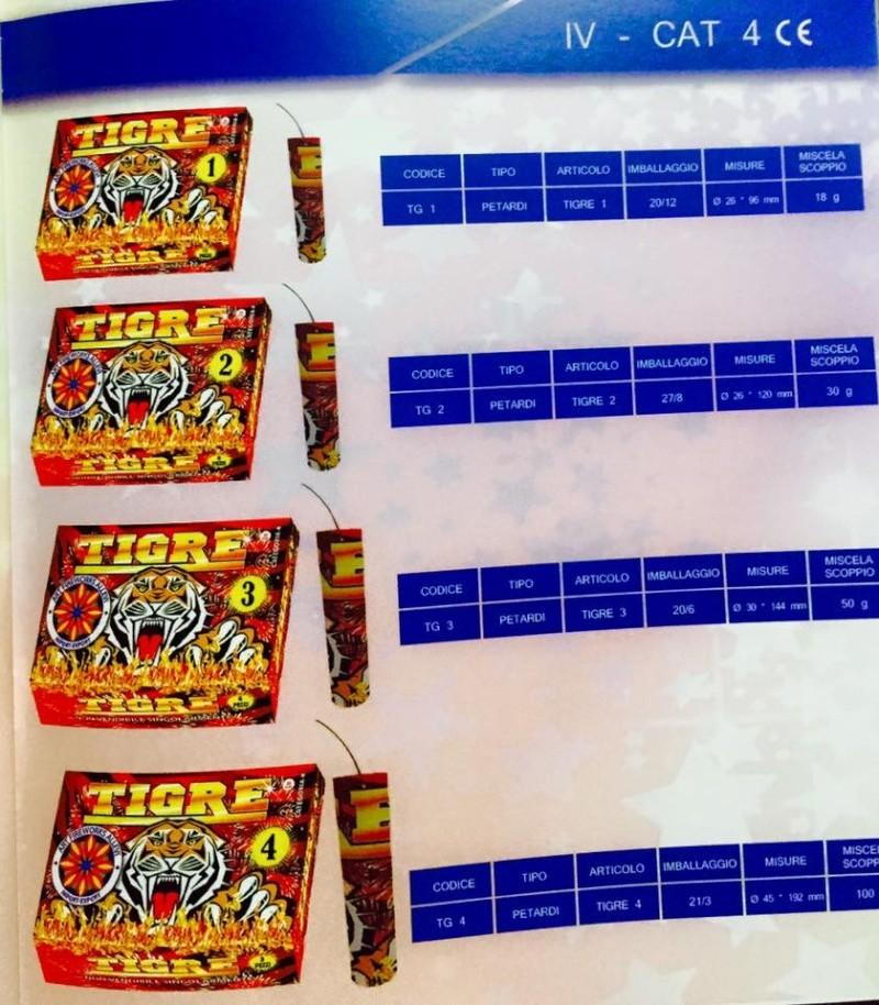 Petardo tigre allevi 11990410