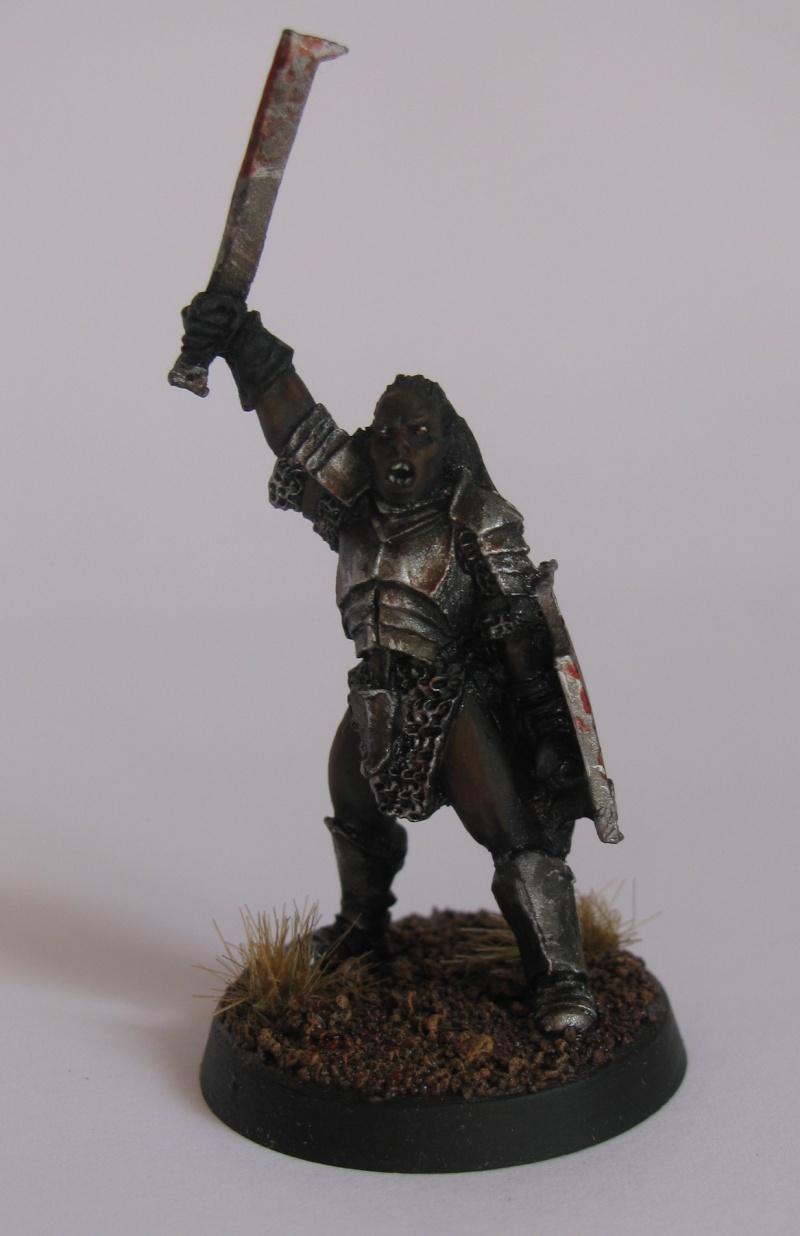 Isengard - Capitaine Uruk hai et Grima langue de serpent  Capita10