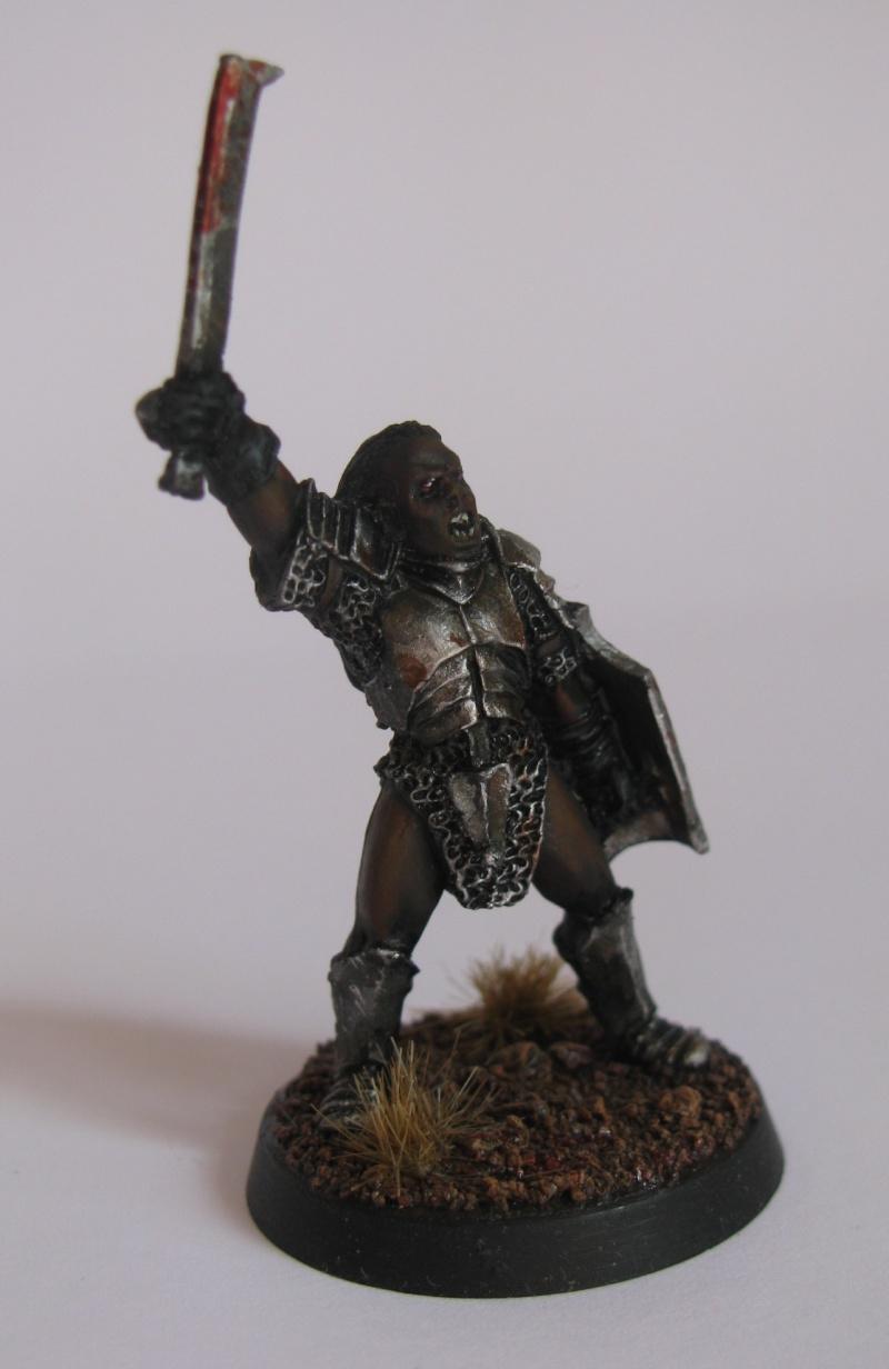 Isengard - Capitaine Uruk hai et Grima langue de serpent  Capita11
