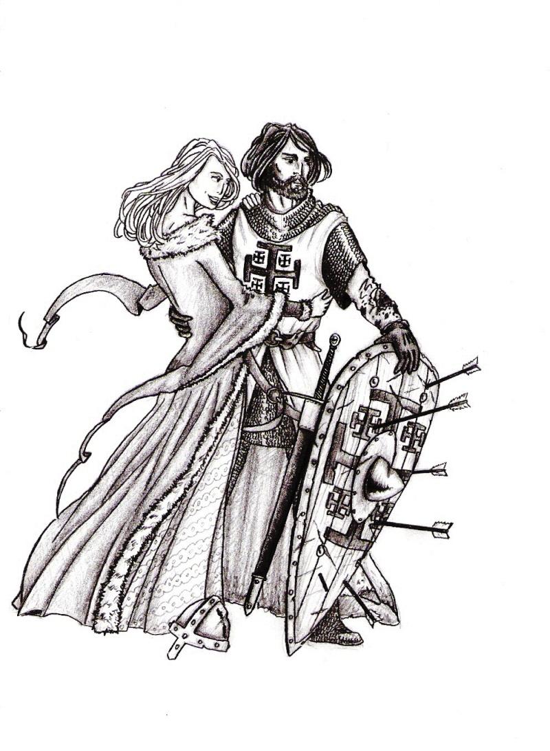 Dessins de Winterfell Cheval10
