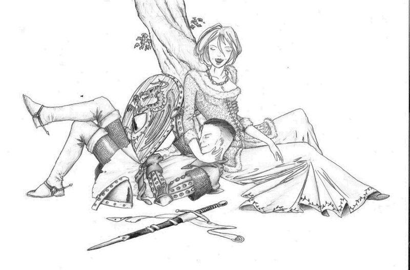 Dessins de Winterfell Cheval11