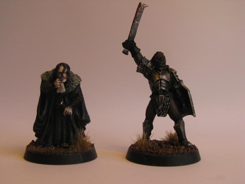 Isengard - Capitaine Uruk hai et Grima langue de serpent  Img_8313