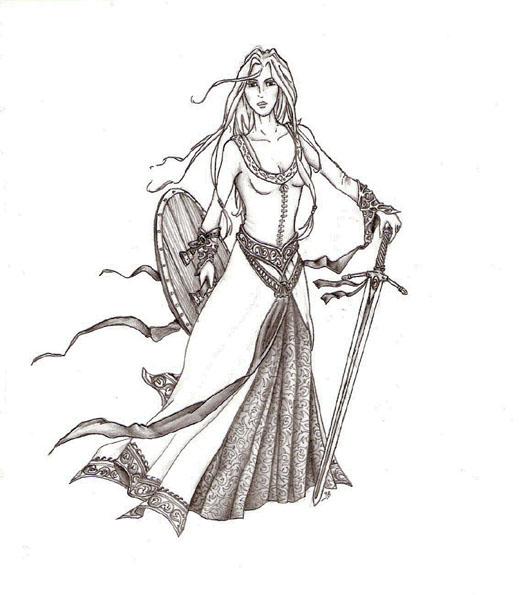 Dessins de Winterfell Walkyr10